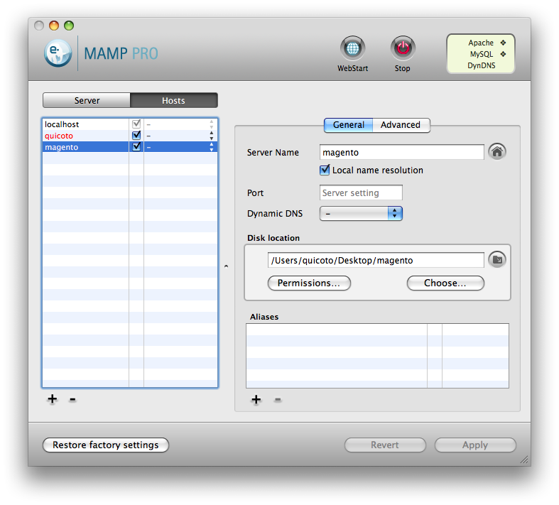 how to download magento 2 with xampp on mac