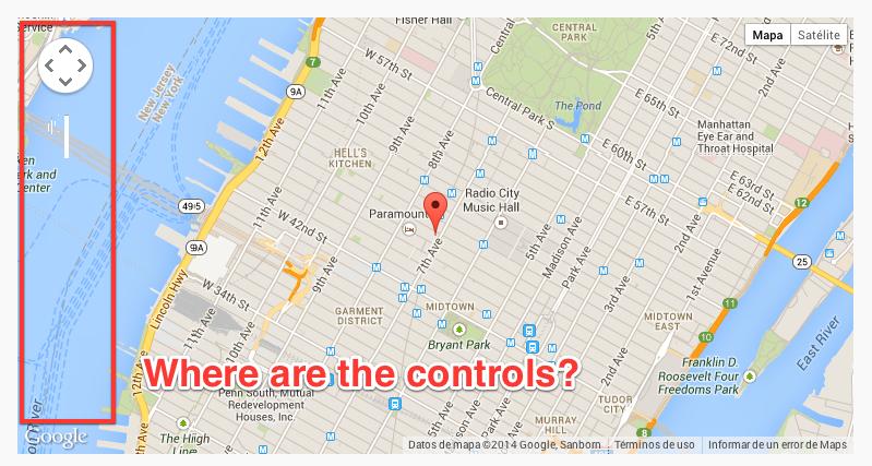 Fix google maps javascript api controls ricks code google maps hidden controls gumiabroncs Gallery