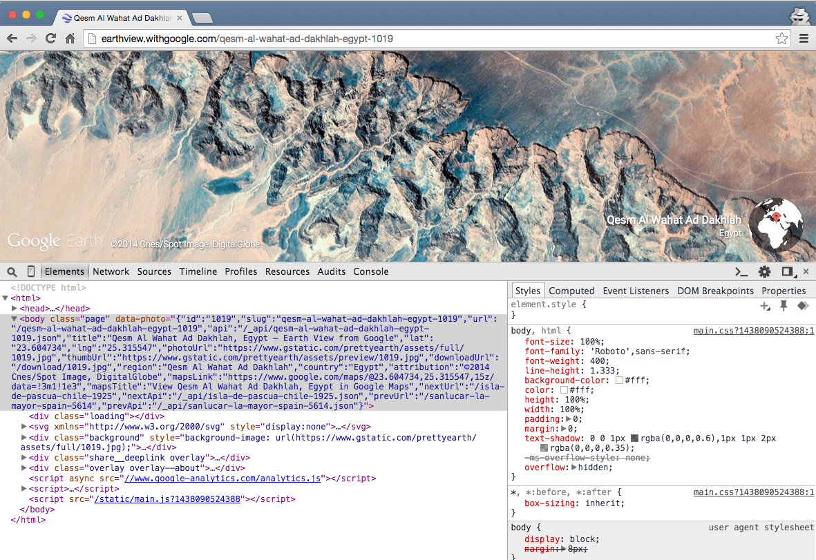 google-earthview-json-data